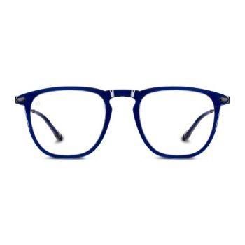 NOOZ DINO Navy Ready Reader with Blue Light protection